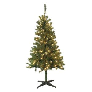 home accents holiday 5 ft wood trail pine artificial christmas tree