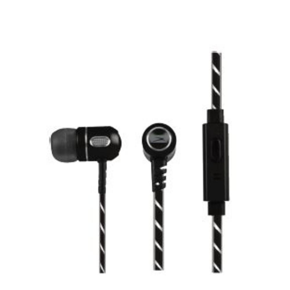 In-Ear Bluetooth Aluminum Earbud in Black