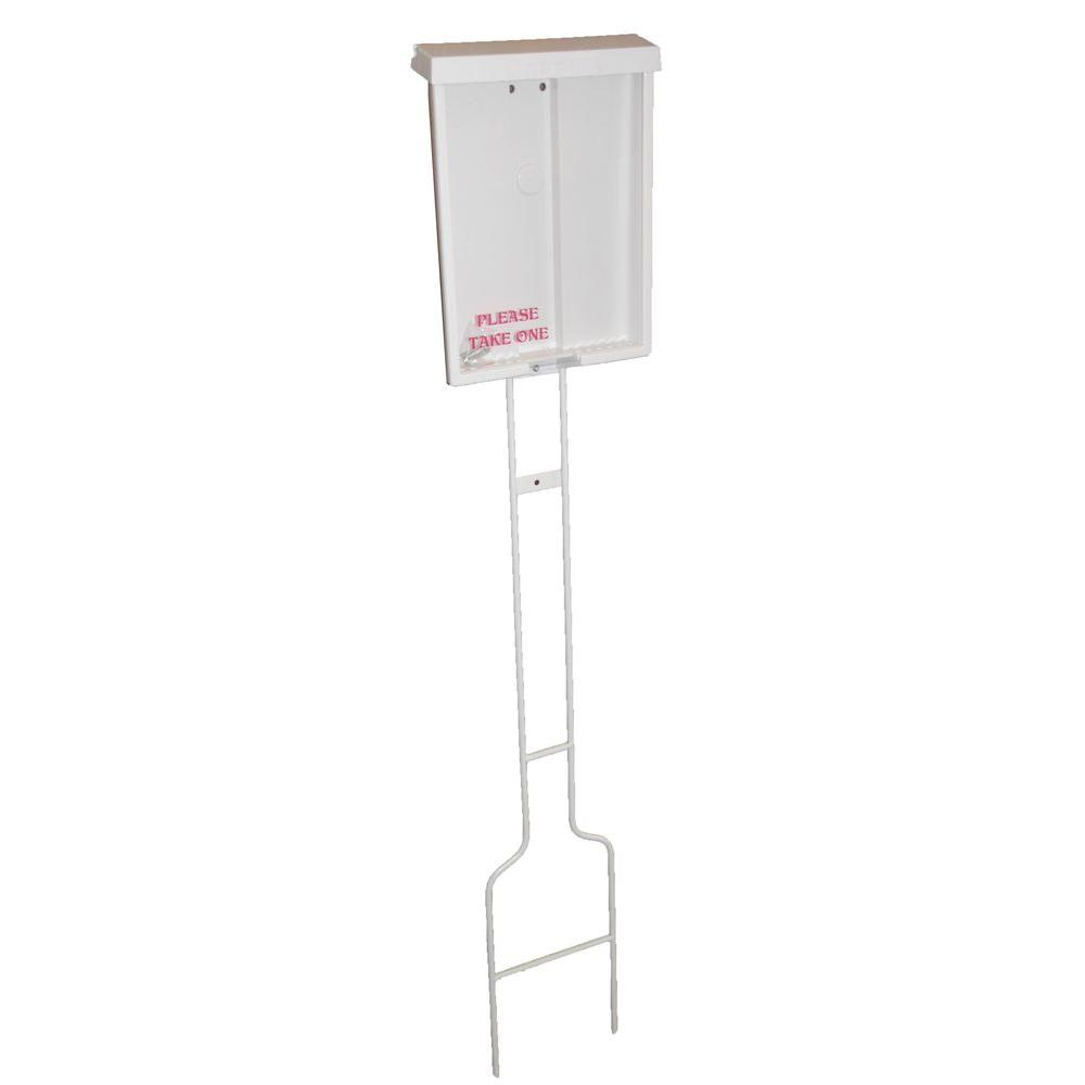 Lynch Sign Economy Brochure Holder With Pole To Display