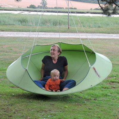 6 ft. Portable Double Tree Hammock in Leaf Green