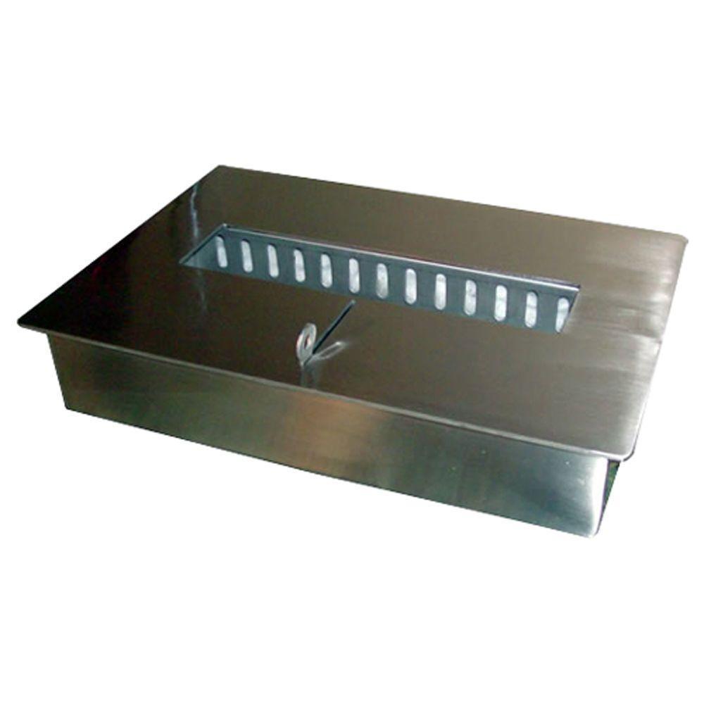 2.5 l Stainless Steel Drop-in Builder Ethanol Burner
