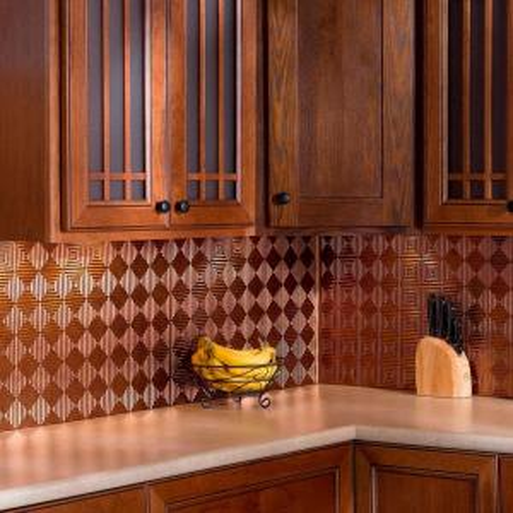 Fasade 18 in. Inside Corner Decorative Wall Tile Trim in ...