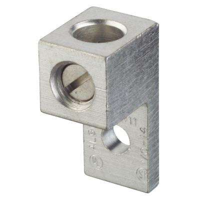 1/0 to #14 Dual Rated Mechanical Connector with Single Conductor Mount (Case of 5)
