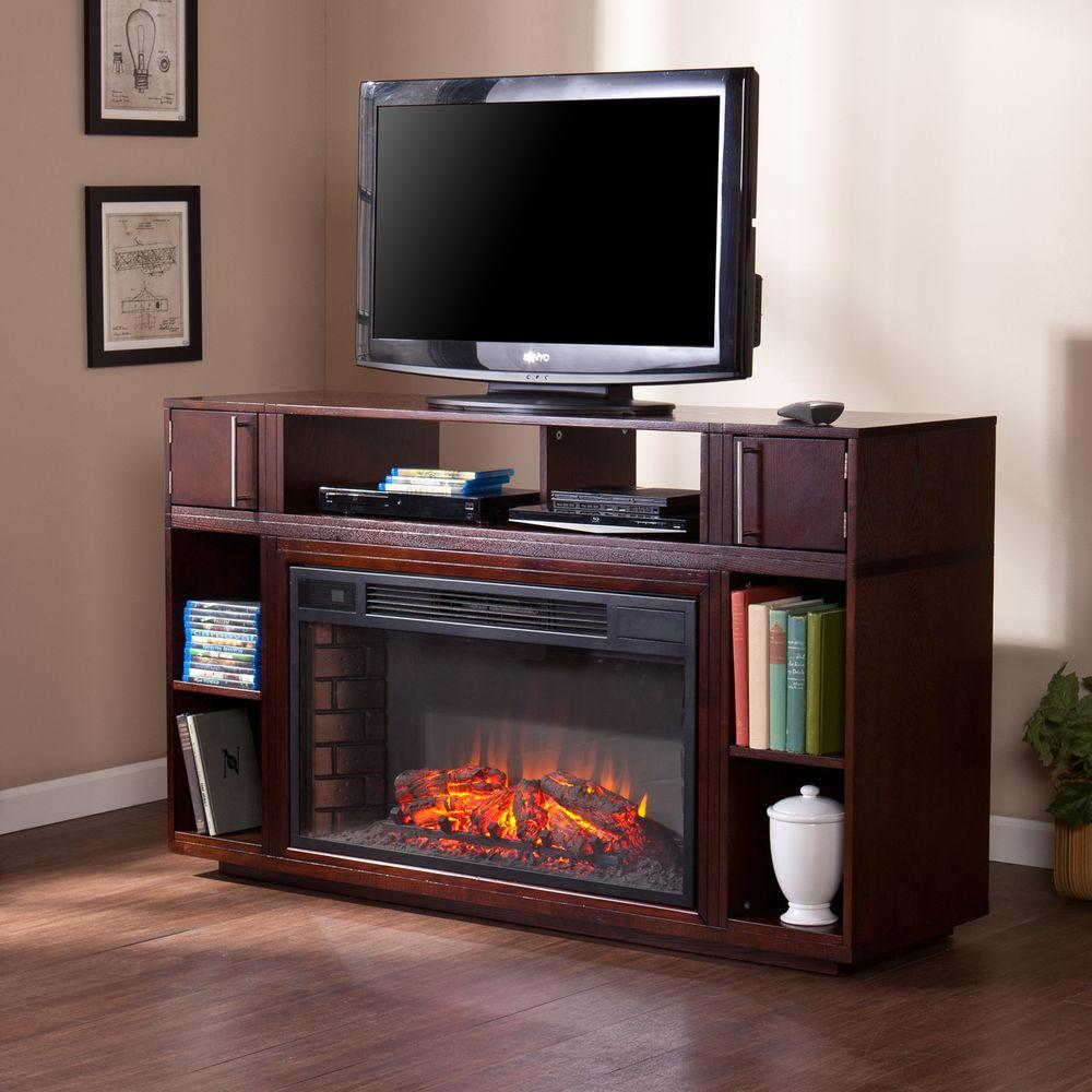 Southern Enterprises Sandy 56 in. Freestanding Media Elec...