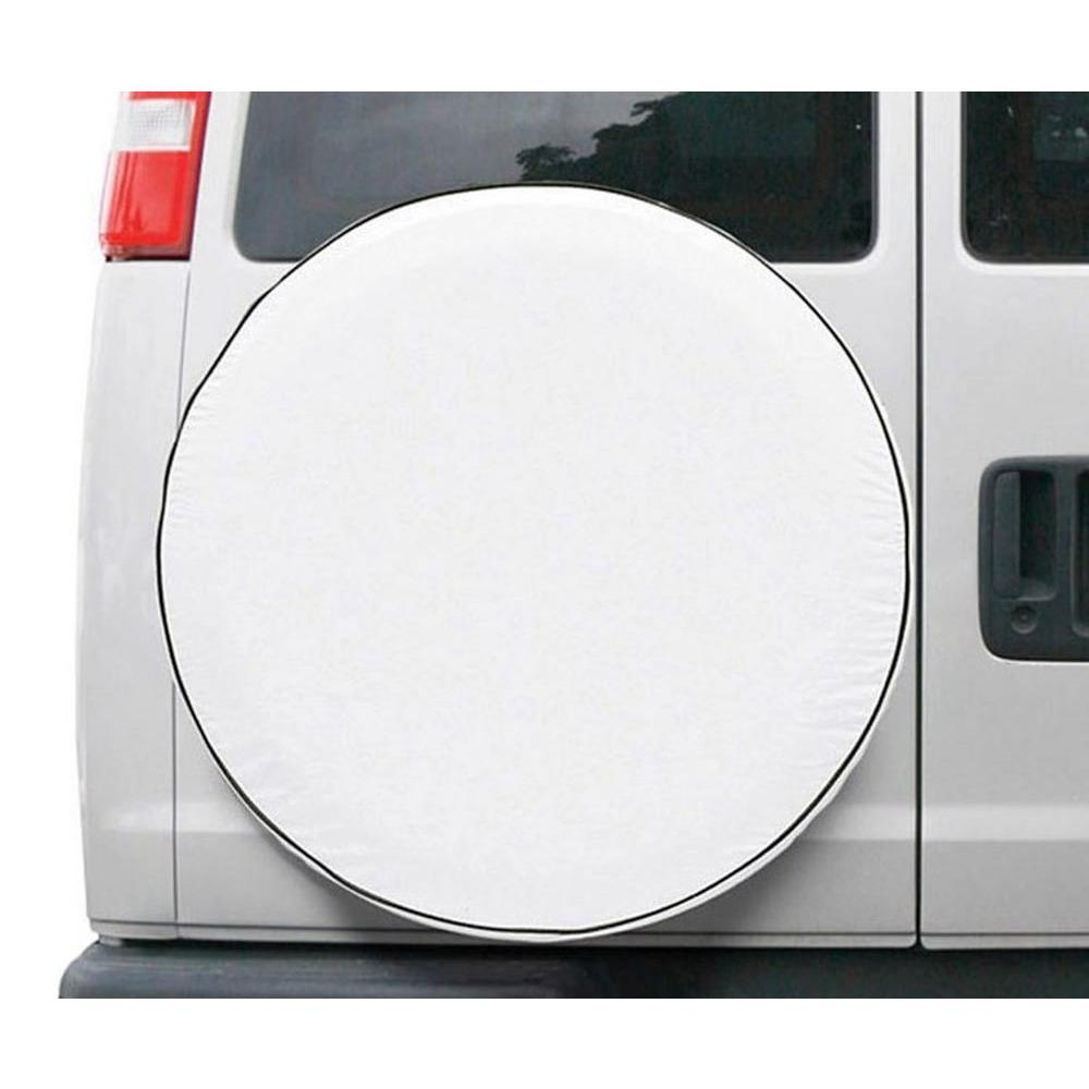 25.5-26.5 Classic Accessories 75120 OverDrive Custom Fit Spare Tire Cover White