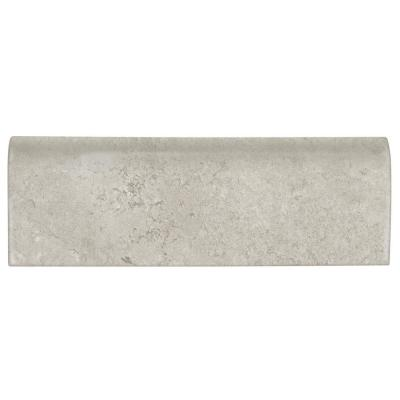 Northpointe Greystone 2 in. x 6 in. Ceramic Bullnose Wall Tile (0.08 sq. ft. / piece)