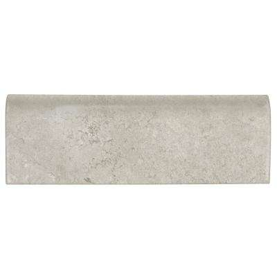 Northpointe Greystone 2 in. x 6 in. Ceramic Bullnose Wall Tile