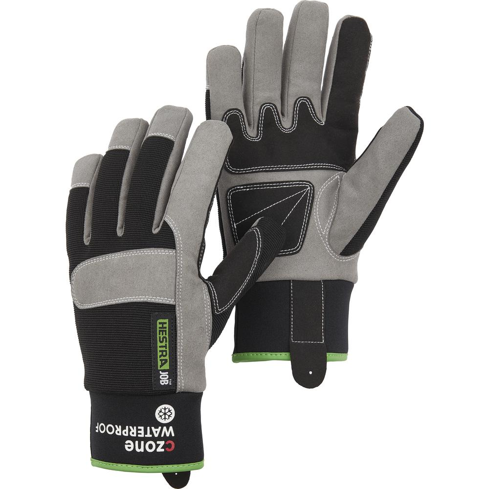 2 pairs Firm Grip All Weather Winter 40g Thinsulate XL Gloves Water Resistant