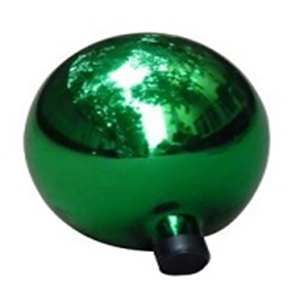 10 in. Emerald Green Glass Outdoor Patio Garden Gazing Ball