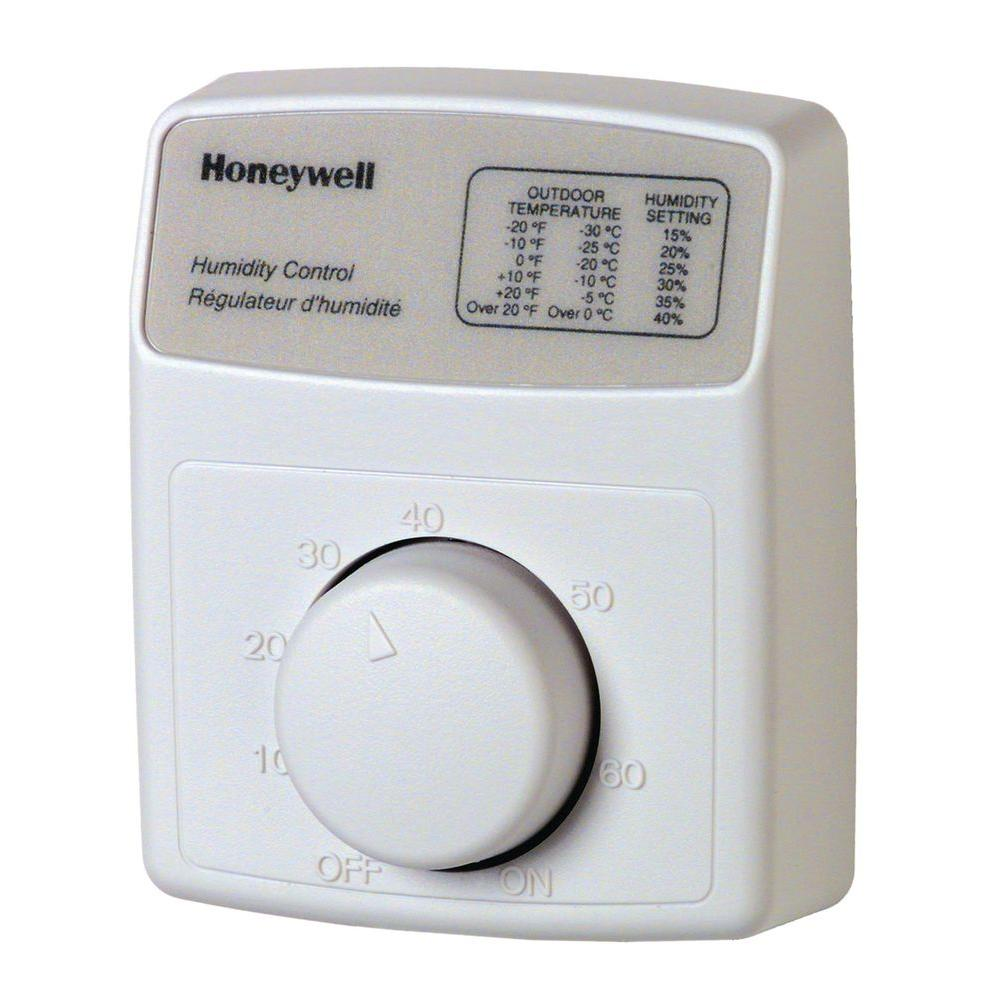 honeywell hvac accessories h8908b 64_1000 honeywell humidistat humidifier control h8908b the home depot Honeywell Thermostat Wiring Diagram at gsmx.co