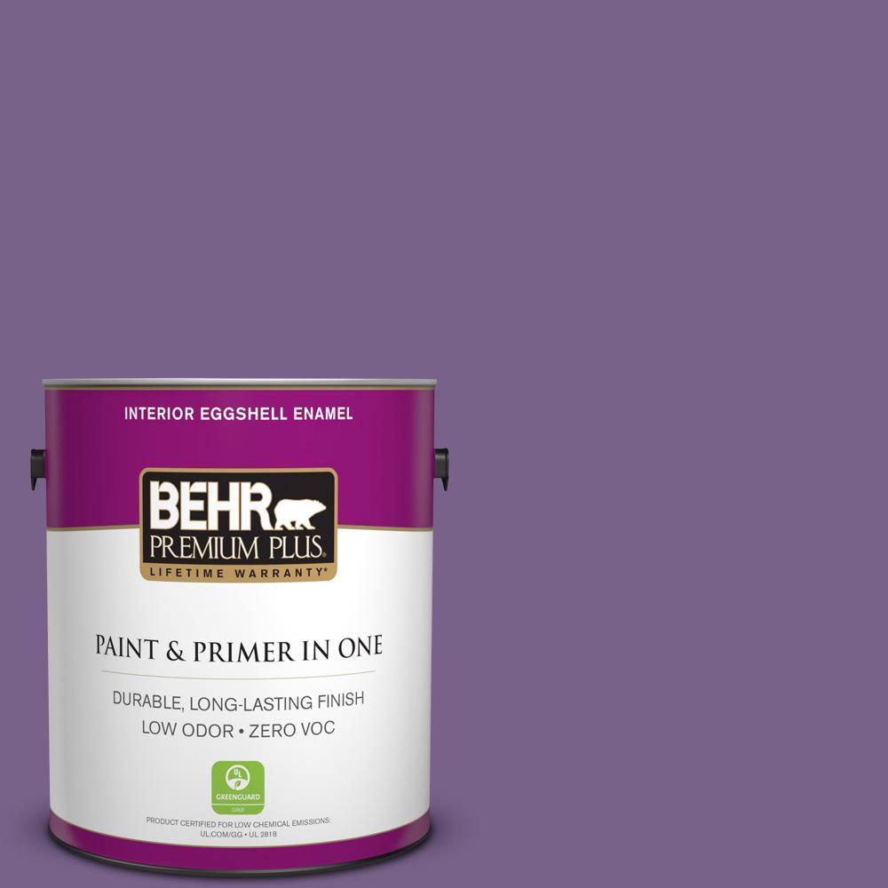 BEHR Premium Plus 1-gal. #M570-6 Notorious Eggshell Enamel Interior Paint