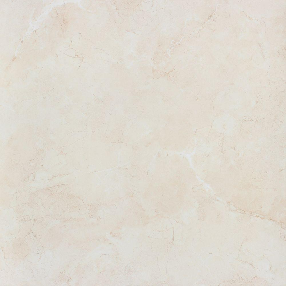 Msi Ivory Marfil 24 In X Glazed Polished Porcelain Floor And Wall