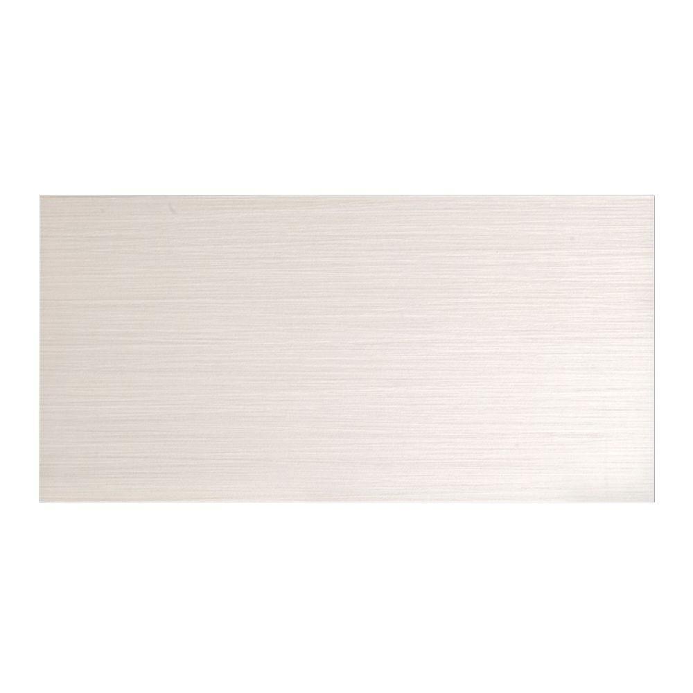 Italia Zen Bianco 12 in. x 24 in. Porcelain Floor and