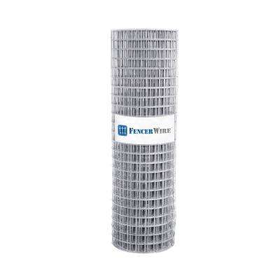 4 ft. x 100 ft. 15-Gauge Welded Wire Fence with Mesh 2 in. x 2 in.