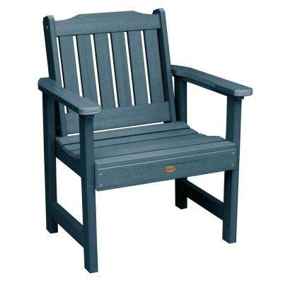 Lehigh Nantucket Blue Recycled Plastic Outdoor Lounge Chair