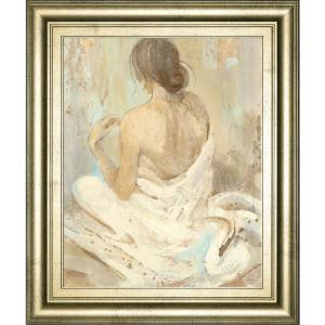 Classy Art 22 In X 26 In Abstract Figure Study 2 By Albena Hristova Framed Printed Wall Art 8220 The Home Depot