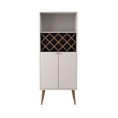 Utopia 10-Bottle Off-White and Maple Cream Wine Rack China Storage Closet with  sc 1 st  Home Depot & Wine Rack - Display Cabinets - Kitchen u0026 Dining Room Furniture - The ...