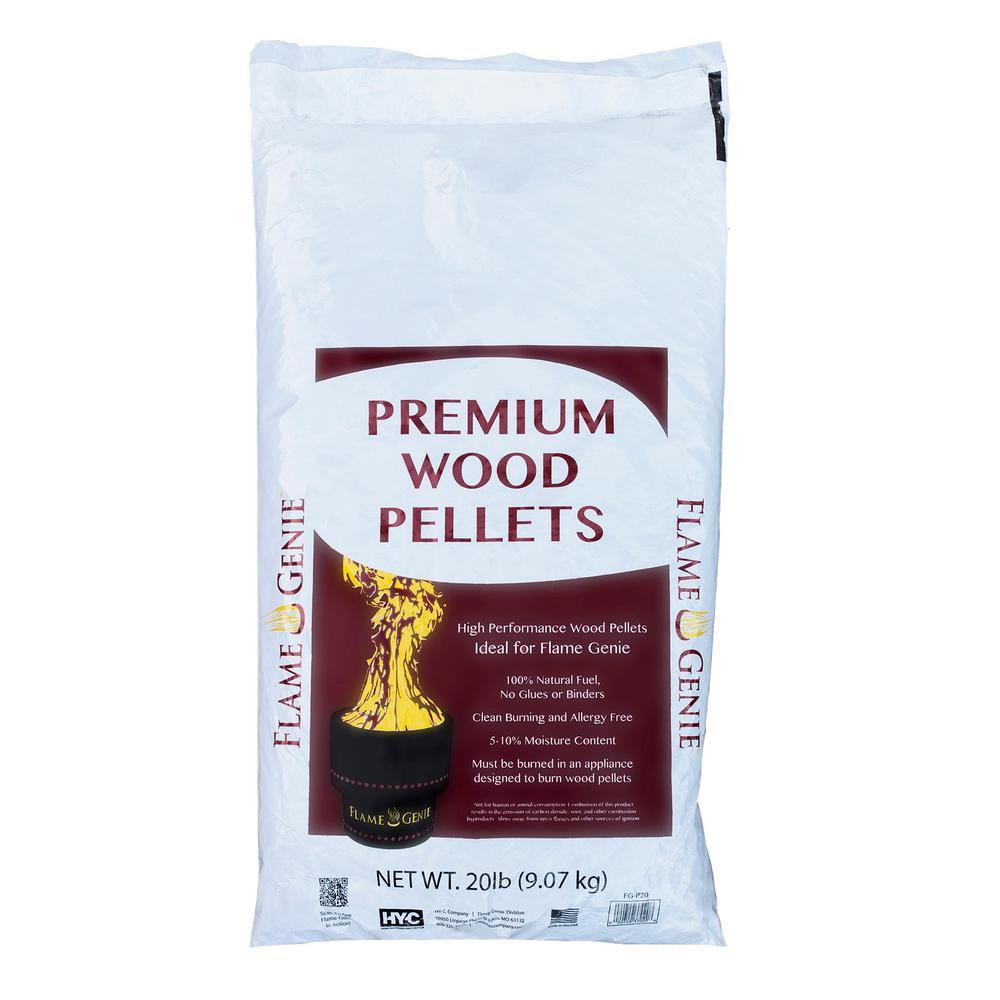 Flame Genie Premium Wood Pellets