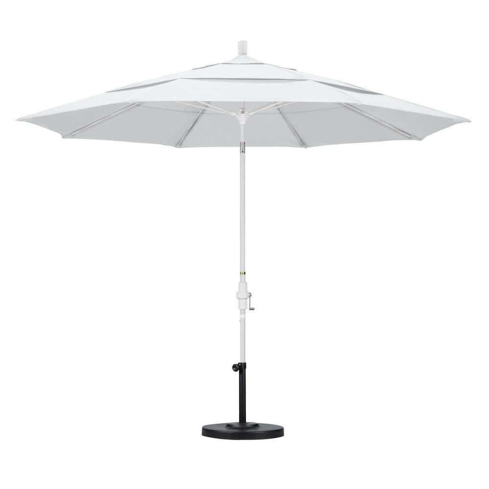 Patio Umbrella Rental: California Umbrella 11 Ft. Fiberglass Collar Tilt Double