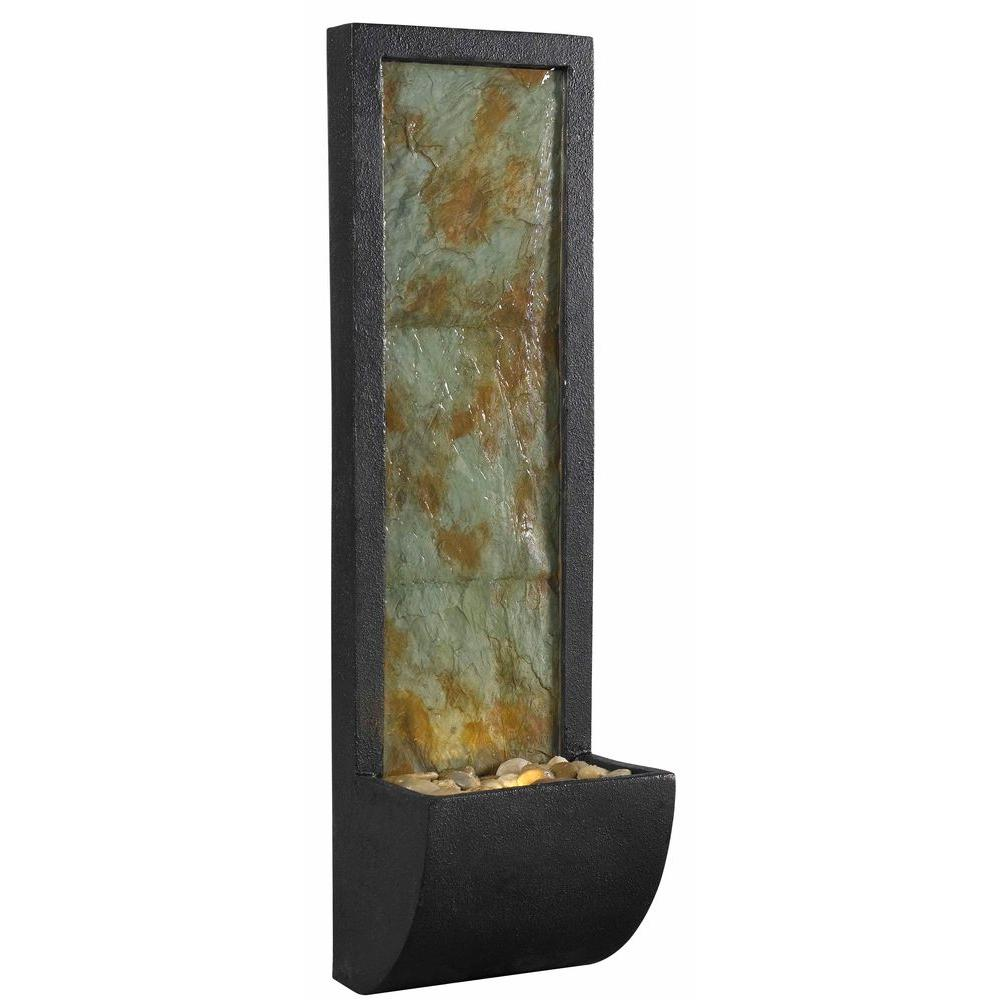 Kenroy Home Walla Indoor 37 in. Wall Fountain-50200SL - The Home Depot