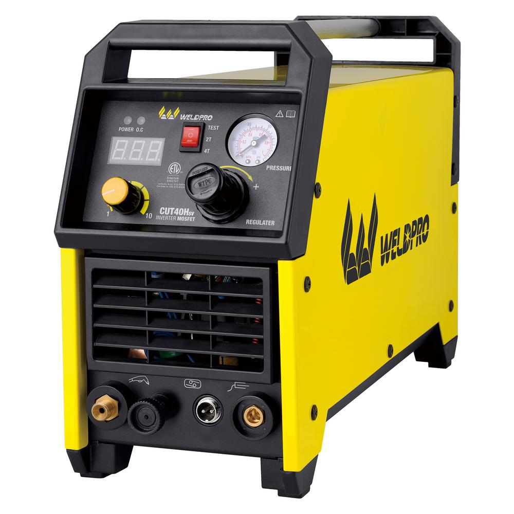 40 Amp Inverter HF Pilot Arc Plasma Cutter with Dual Voltage