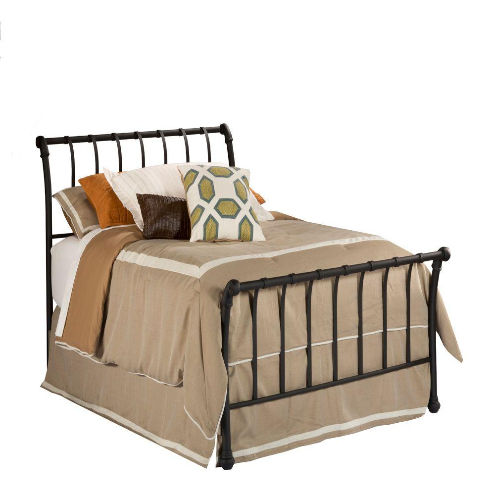 Hillsdale Furniture Janis Textured Black Queen-Size Bed