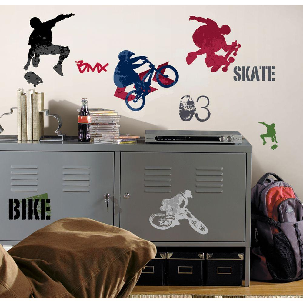 RoomMates Extreme Sports Peel & Stick Wall Decal