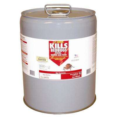 5 gal. Oil Based Bedbug Spray Container with Pour Spout