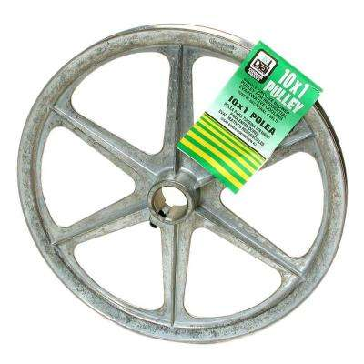 10 in. x 1 in. Evaporative Cooler Blower Pulley