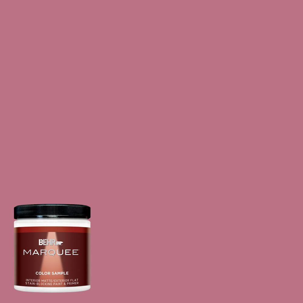 BEHR MARQUEE 8 oz. #MQ1-08 Smell the Roses Matte Interior/Exterior ...