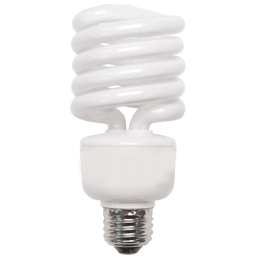 100W Equivalent Daylight (5500K) Shatter Resistant Higher CRI CFL Light Bulb