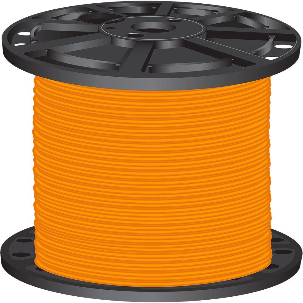 20 wire electrical the home depot 6 orange stranded cu simpull thhn wire greentooth Gallery
