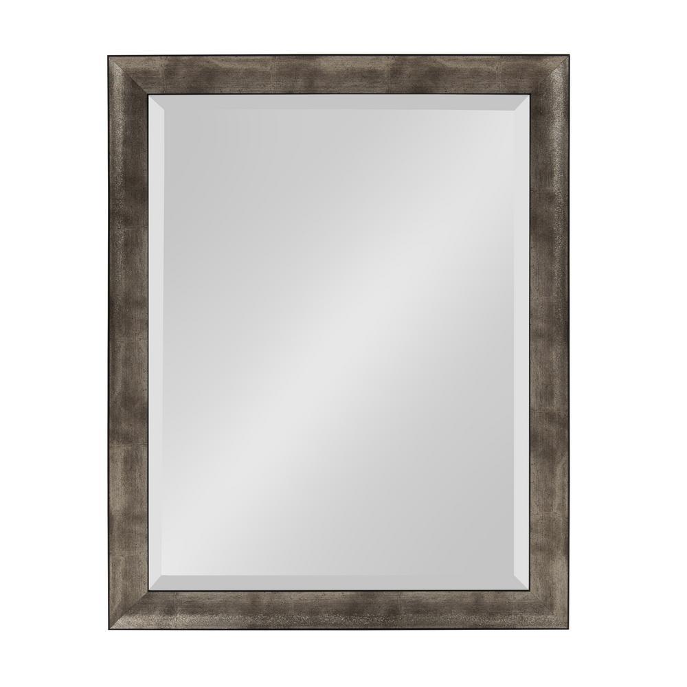 Harlen Rectangle Silver Wall Mirror