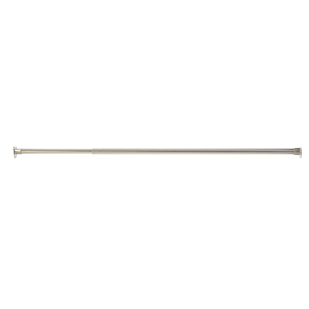 null Manhattan 36 in. - 60 in. Metal Expandable Closet Rod