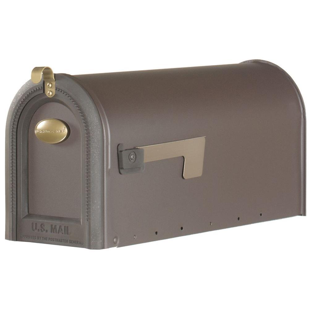 Windmere Post-Mount Rural Mailbox