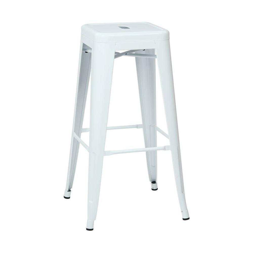 osp designs patterson 30 in white bar stool set of 2 ptr3030a2 11 the home depot