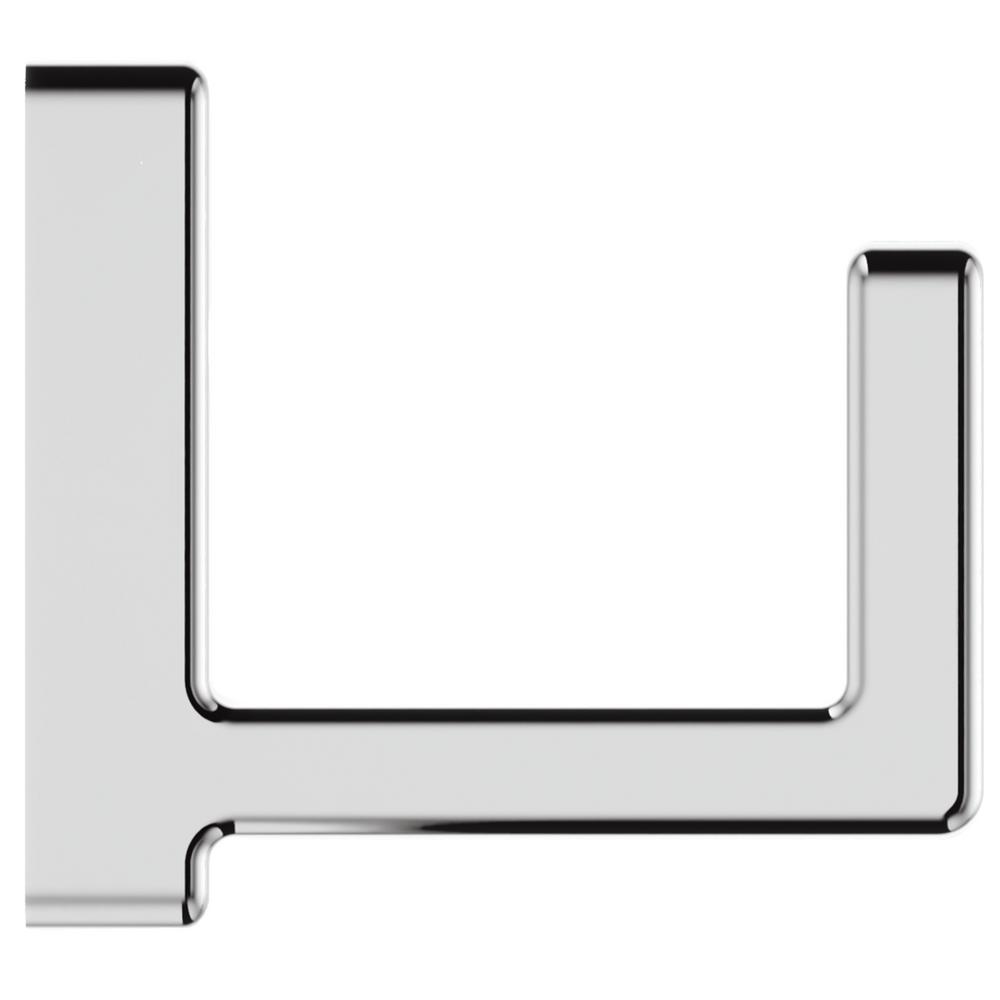 Deckard Single Robe Hook in Polished Chrome