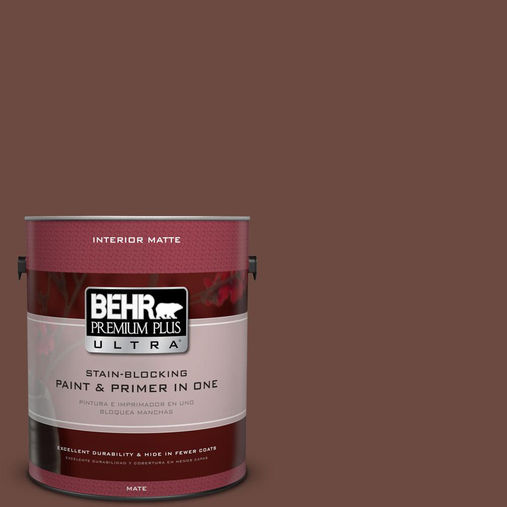 1 gal. #BNC-32 Maximum Mocha Matte Interior Paint