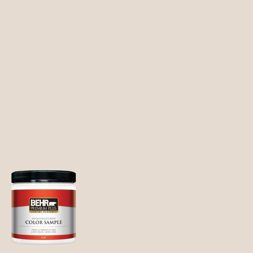 BEHR Premium Plus 8 oz. #W-F-220 Cinnamon Cake Interior/Exterior Paint Sample