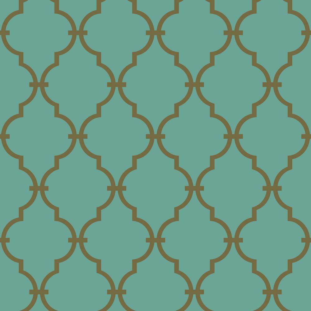 Trellis Wallpaper For Walls: York Wallcoverings Modern Trellis Wallpaper-LW5800