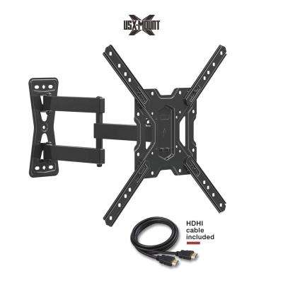 Medium Full Motion TV Mount for 26 in. - 55 in. Flat Panel TV