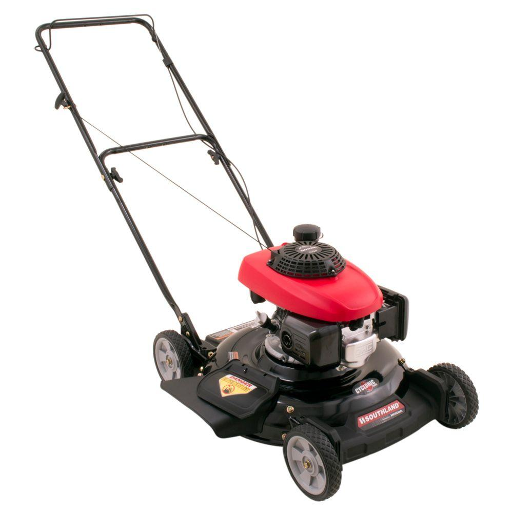 Southland 21 in. 160 cc Honda Engine Gas 2-in-1 Walk-Behind Push Mower-DISCONTINUED