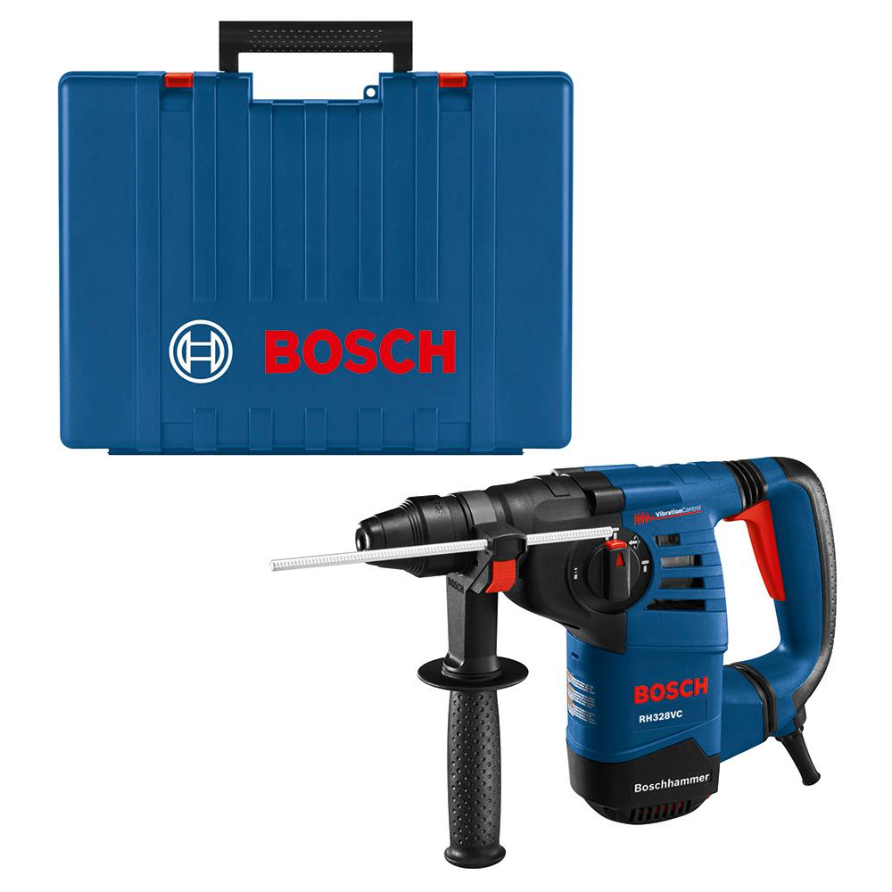 7Pc Bosch Carbide-Tipped SDS-Plus Rotary Hammer Drill Bit Set With Storage Case