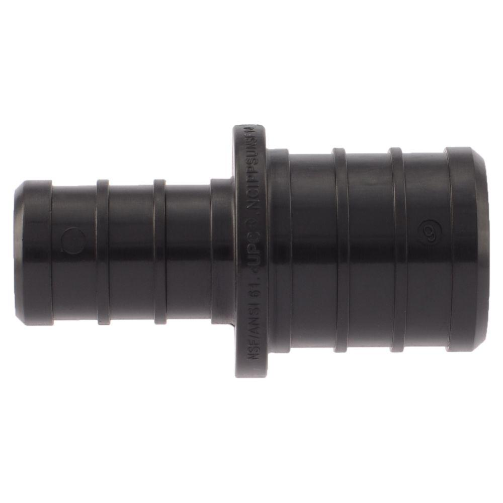 SharkBite 3/4 in. x 1/2 in. PEX Barb Plastic Reducer Coupling Fitting (5-Pack)