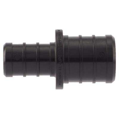 3/4 in. x 1/2 in. PEX Barb Plastic Reducer Coupling Fitting (5-Pack)