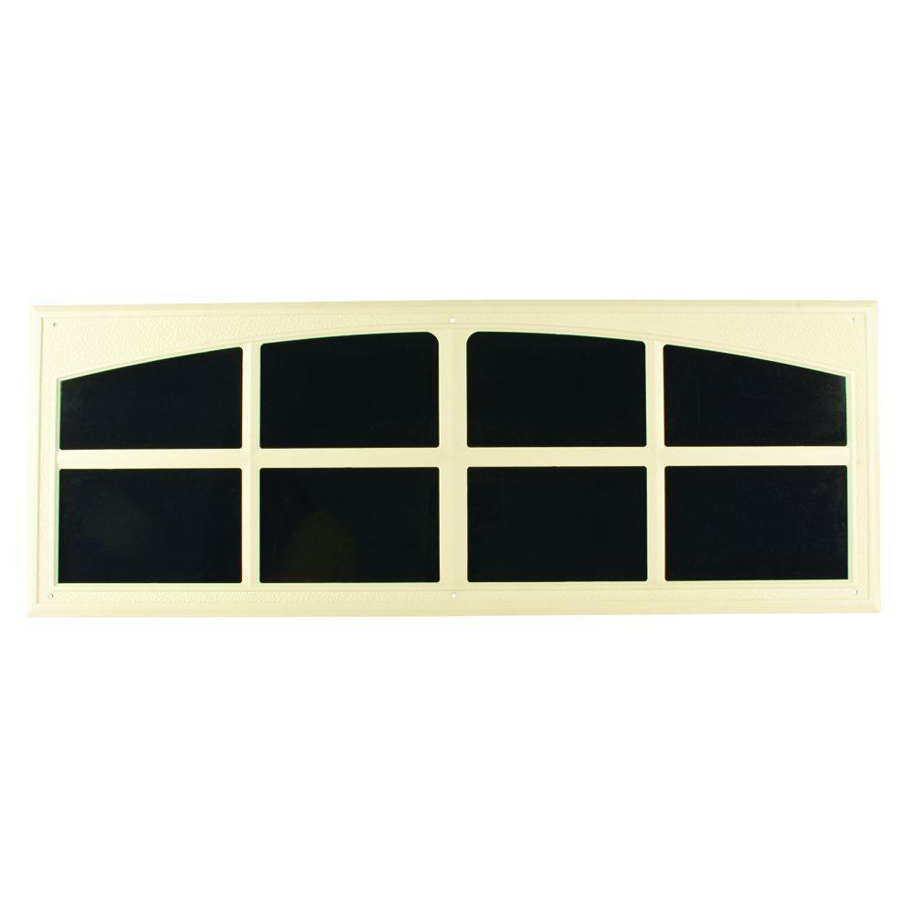 Crown MetalWorks Almond Decorative Faux Windows (2 per Pack)