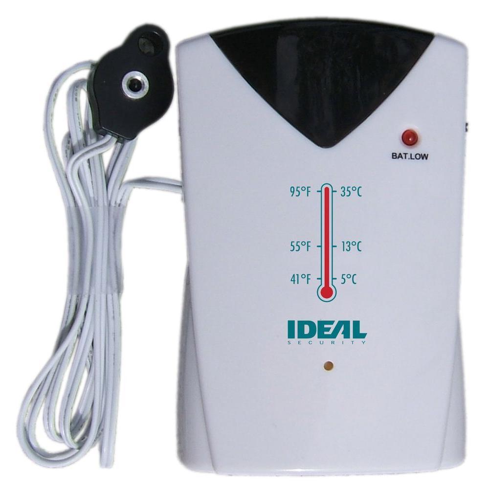 IDEAL Security Temperature Sensor With Alarm