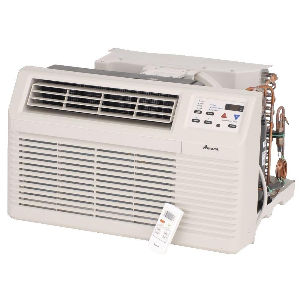 9,000 BTU 115-Volt Through-the-Wall Air Conditioner and Heat Pump with 1.2
