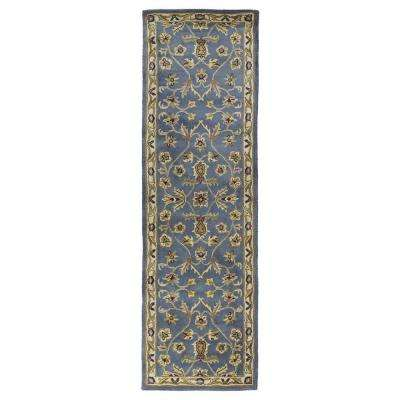 Mystic William Blue 2 ft. x 8 ft. Runner Rug