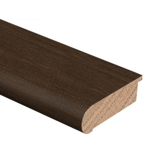 Strand Woven Bamboo Ceruse 1/2 in. Thick x 2-3/4 in. Wide x 94 in. Length Hardwood Stair Nose Molding Flush